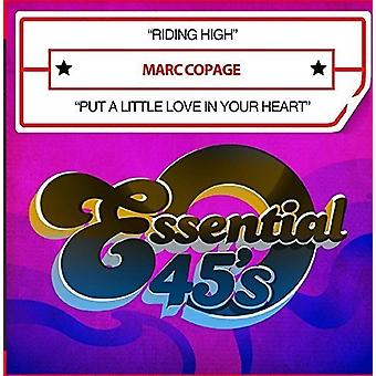 Marc Copage - Riding High / Put a Little Love in Your Heart [CD] USA import