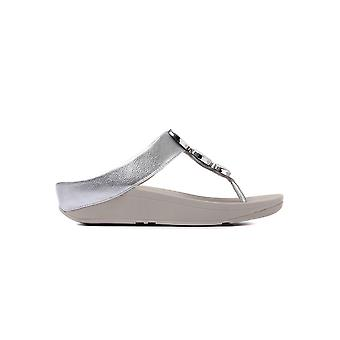 FitFlop Women's Halo Sandals - Silver