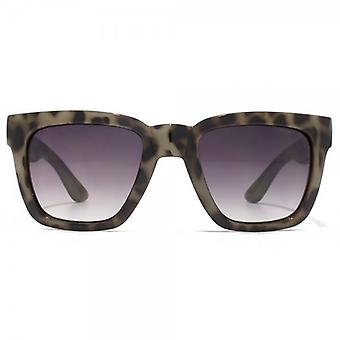 Kurt Geiger Camilla Square Sunglasses In Grey Tortoiseshell