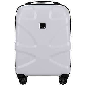 Titan X 2 4-roller polycarbonate cabins onboard trolley 55 cm
