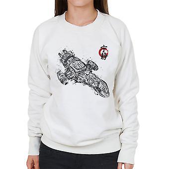 Firefly Serenity Sumi E Women's Sweatshirt