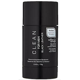 Clean For Man Black Leather Desodorante 75 gr