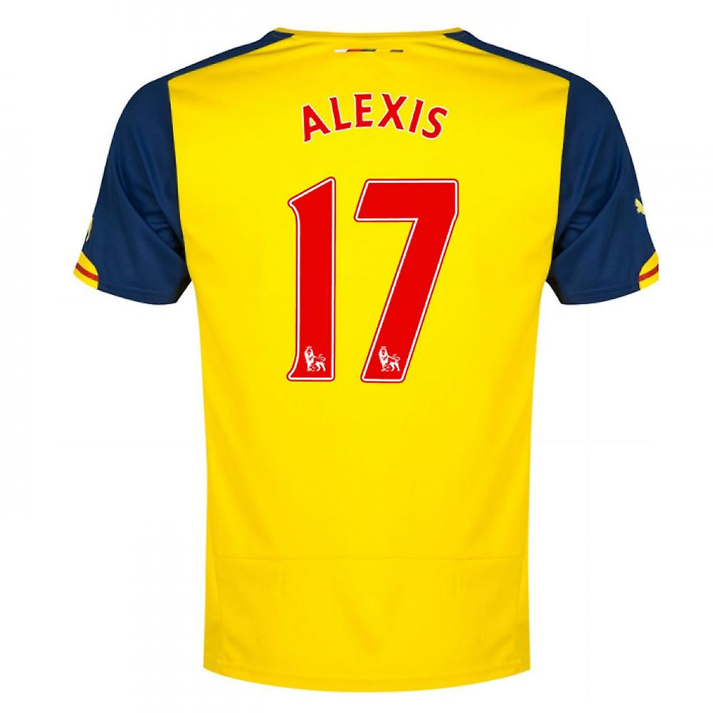 2014-15 Arsenal Shirt Away (Alexis 17)