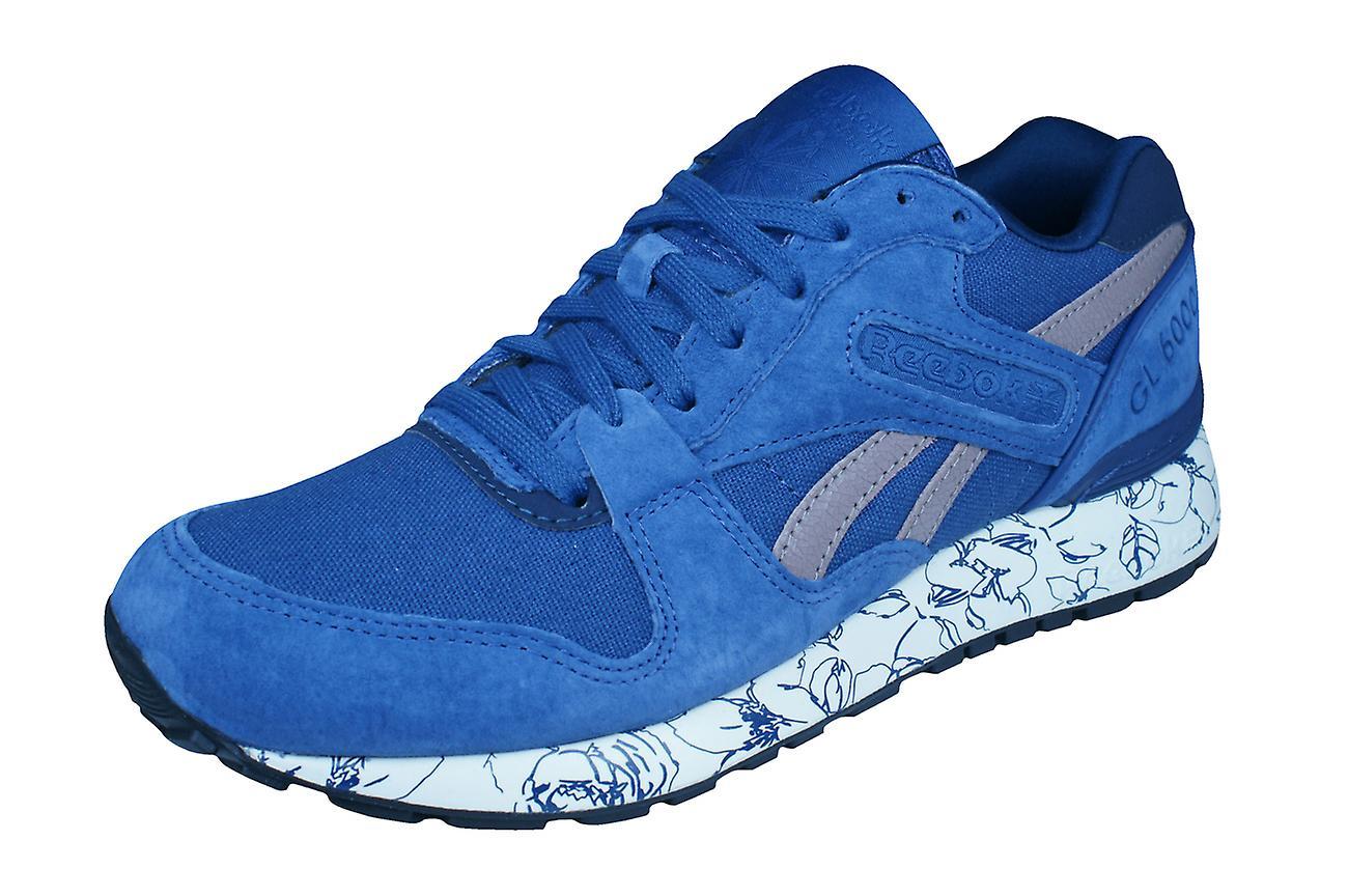 Classique de Reebok GL 6000 Wrap femmes formateurs   chaussures - bleu