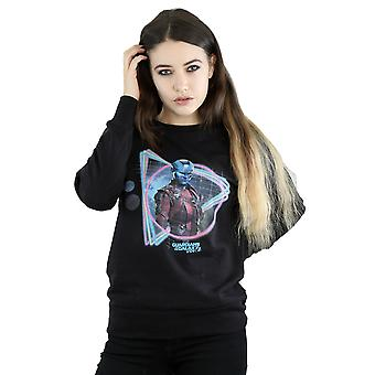Marvel Women's Guardians Of The Galaxy Neon Nebula Sweatshirt