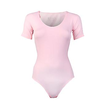 RJ Bodywear Pure Color Light Pink Ladies T-Shirt Body 33-010