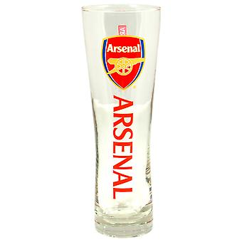 Arsenal FC Official Wordmark Football Crest Peroni Pint Glass