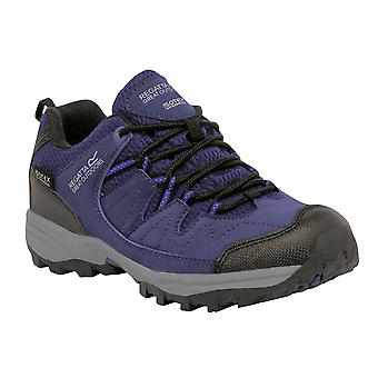 Regatta Great Outdoors Childrens/Kids Holscombe Lace Up Waterproof Trainer Walking Shoes