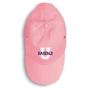 Carolines schatten 156U-4009-PKBL Basenji Baseball Cap 156U-4009