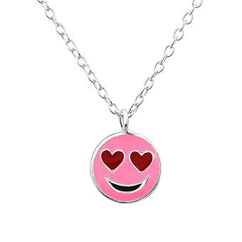Love Face - 925 Sterling Silver Necklaces - W29588x