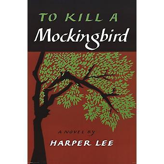 Klassische Buchcover - eine Spottdrossel Plakat Poster drucken zu töten