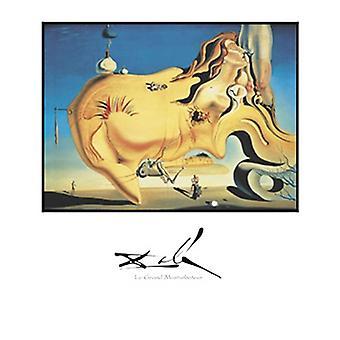 Le Grand Masturbateur Poster stampa di Salvador Dali (22 x 28)