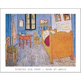 Bedroom At Arles Poster Print by Vincent Van Gogh (28 x 22)