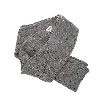 Brooksfield mens 209CL 0140111 gray wool scarf