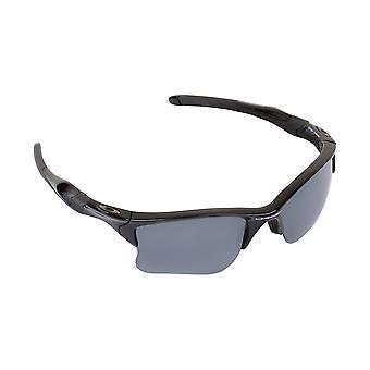 Half Jacket 2.0 XL Replacement Lenses Crystal Clear & Silver by SEEK fits OAKLEY