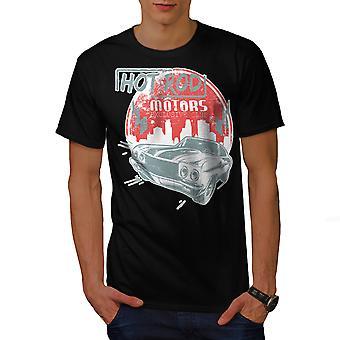 Hete auto Vintage heren gekleedinzwartet-shirt | Wellcoda