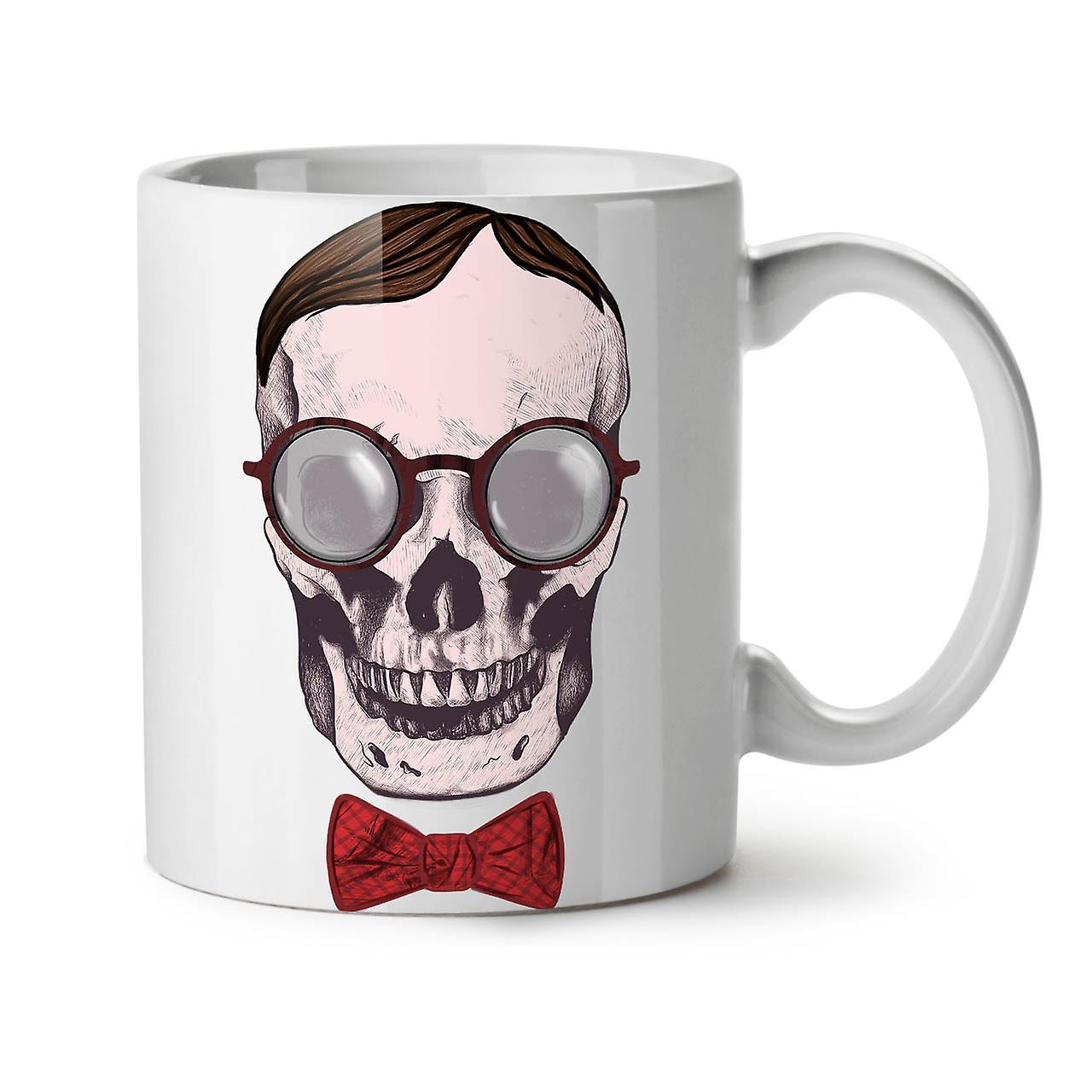 11 Hippie OzWellcoda White New Mug Glasses Tea Coffee Ceramic Skull 4R3cLAqS5j