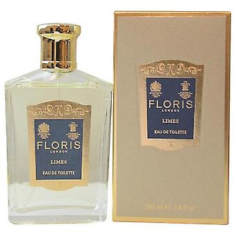 Floris Limes By Floris Of London Edt Spray 3.4 Oz