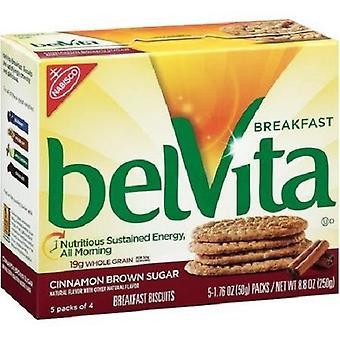 Belvita Cinnamon Brown Sugar Breakfast Biscuits 2 Box Pack
