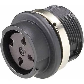Round connector C091/B Number of pins: 7 Connector socket with mounting 5 A