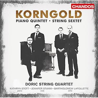 E.W. Korngold - Erich Wolfgang Korngold: String Sextet; Piano Quintet [CD] USA import