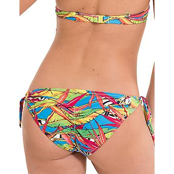 LingaDore 2916BS-154 Women's Carnaval Multicolour Motif Swimwear Beachwear Bikini Bottom
