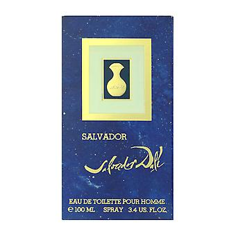 Salvador Dali Salvador Pour Homme Eau De Toilette Spray 3.4Oz/100ml New In Box
