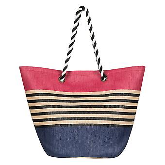 Roxy Sunseeker Straw Beach Bag - Deep Cobalt