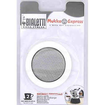 Bialetti - Spare Seal for Mukka Express Cappuccino Coffee Makers - Various Sizes