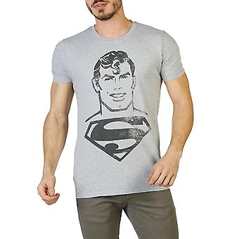 DC Comics Men T-shirts Grey