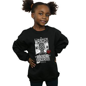 Fantastic Beasts Girls Wanded and Extremely Dangerous Sweatshirt