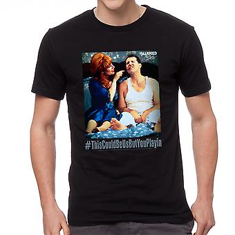 Married With Children #ThisCouldBe Men's Black T-shirt