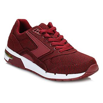 Brooks Mens Syrah Burgundy Academia Fusion Trainers