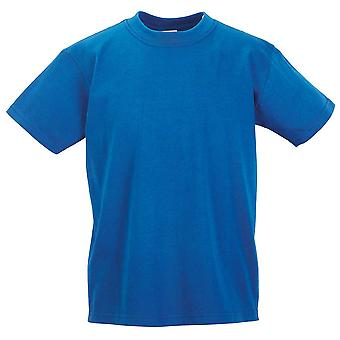 Russell Schoolgear Kids Classic Plain Colours Short Sleeve Cotton T-Shirt