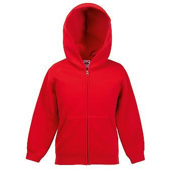 Fruit Of The Loom Kids Premium 70/30 Hooded Sweat Jacket