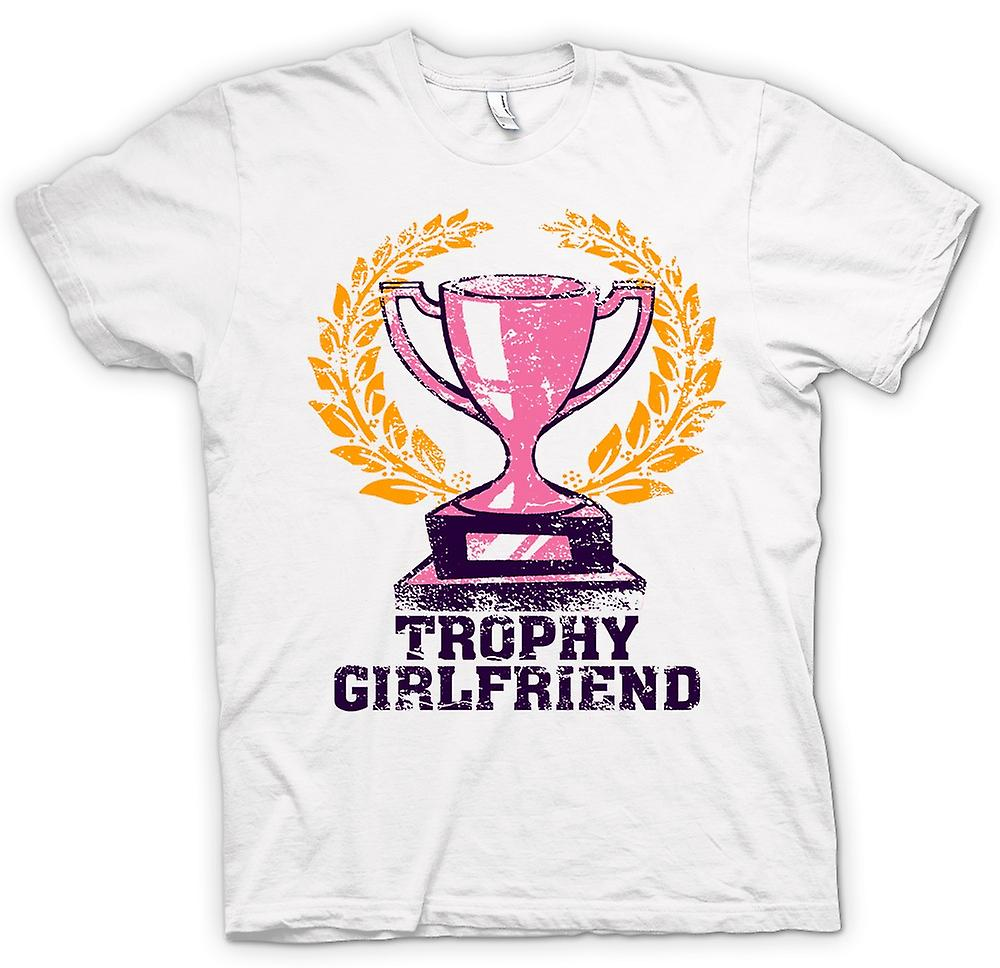 Mens T-shirt - Trophy Girlfriend - Funny