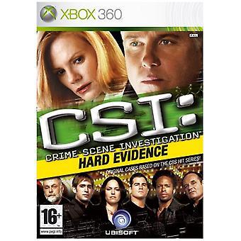 CSI hårda bevis (Xbox 360)