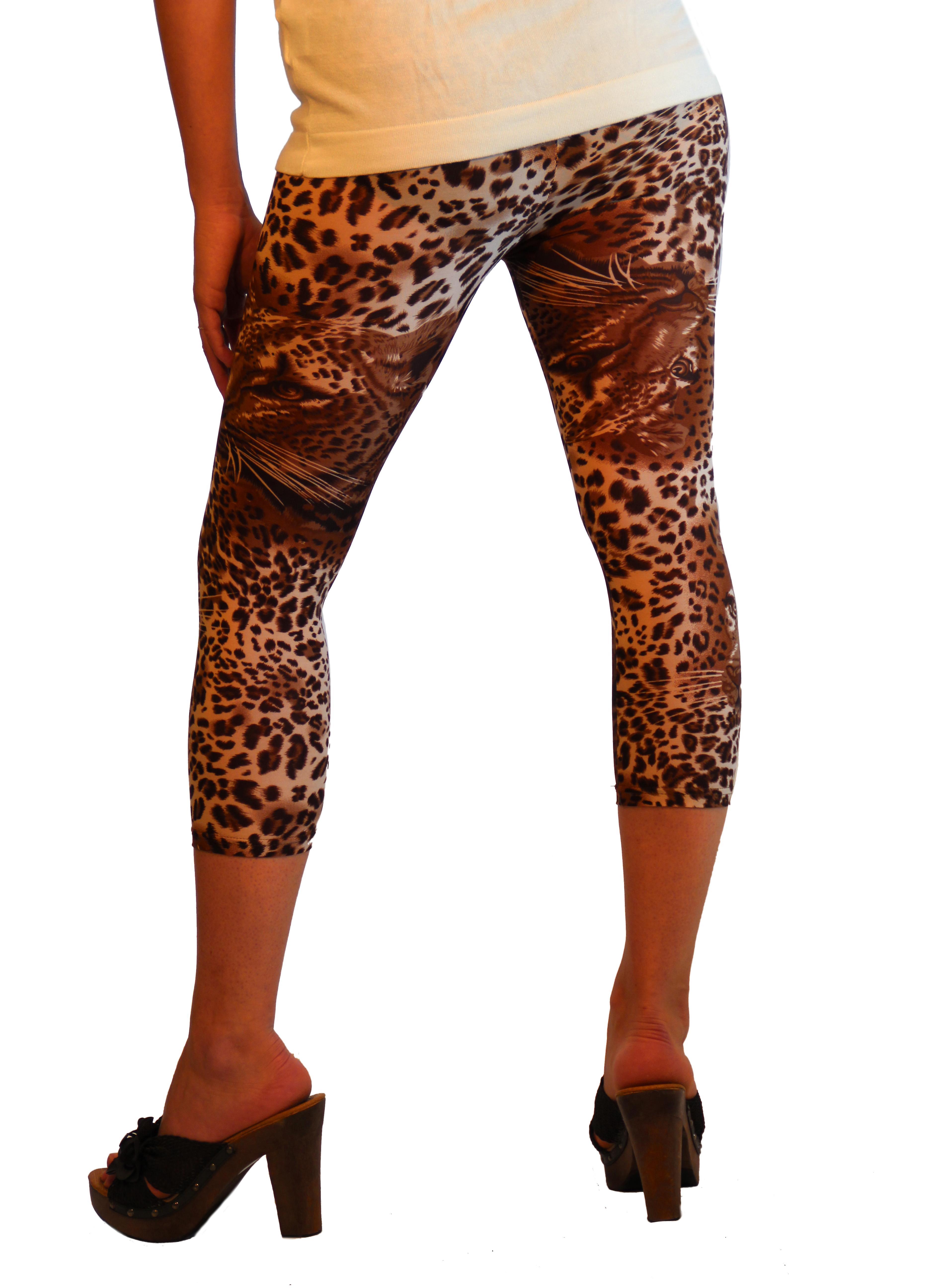 Legging Coeurt léopard