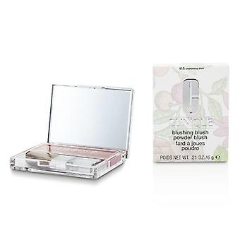 Clinique rødmende Blush Powder Blush - # 115 ulmende blomme - 6g / 0,21 oz