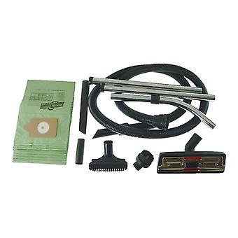 Numatic Vacuum Cleaner 2,5 m slange og værktøjskasse med 10 x papir støvsugerposer