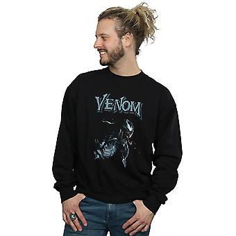 Marvel Men's Venom Profile Sweatshirt
