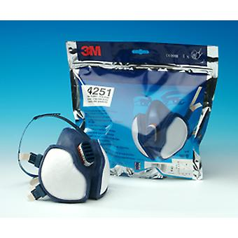 3M 4251 3M Organic Vapour And Particulate Respirator Ffa1P2Rd