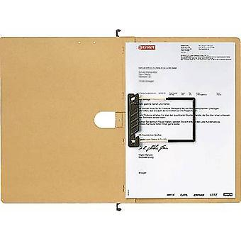 Leitz File display pocket 1989-00-00 250 gm² Ecru brown