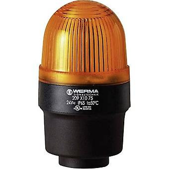 Light Werma Signaltechnik 209.320.68 Yellow Flash 230 V AC