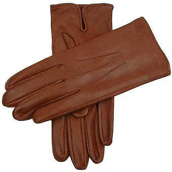 Dents Milton Unlined Hairsheep Leather Gloves - Highway Tan