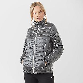 New Regatta Women's Metallia Full Zip Long Sleev Jacket Dark Grey