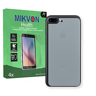 Apple iPhone 7 Plus reverse Screen Protector - Mikvon Health (Retail Package with accessories) (intentionally smaller than the display due to its curved surface)