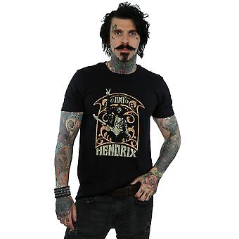 T-shirt di Jimi Hendrix uomo Art Nouveau