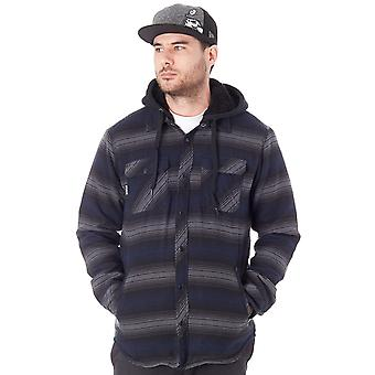 Metal Mulisha Blue Combat Sherpa Jacket