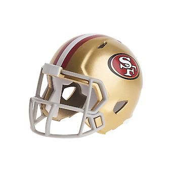 Riddell speed pocket football helmets - NFL San Francisco 49ers